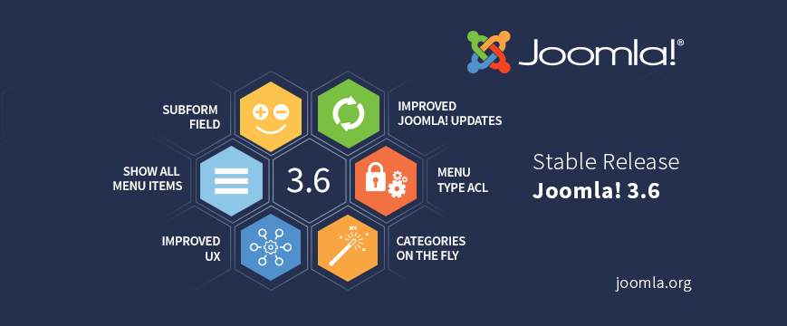 Joomla! v3.6 has been released