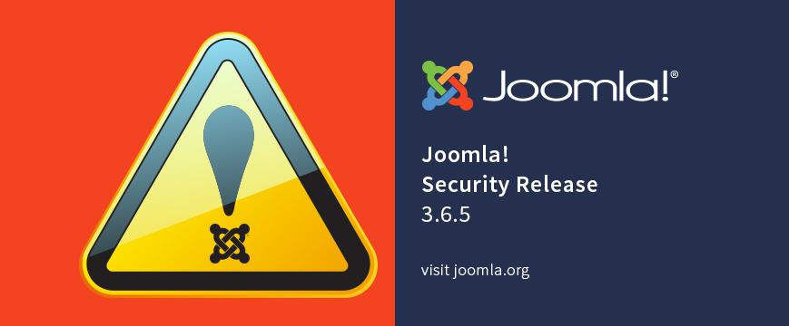 Joomla! 3.6.5 released