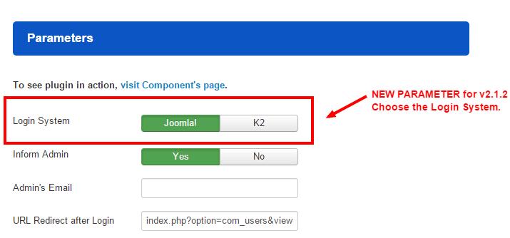 Login as User v2.1.2 released