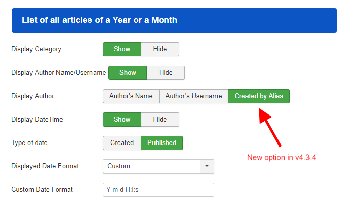 monthly archive v4.3.4 new option created by alias