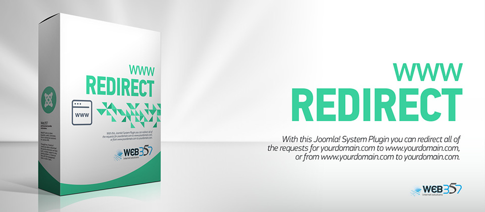 www Redirect, new Joomla! plugin by Web357