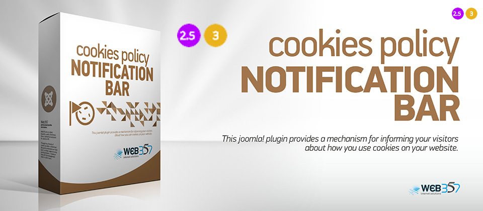 3 cookie policy cover with versions
