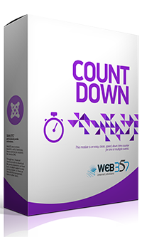 Countdown extension for Joomla!