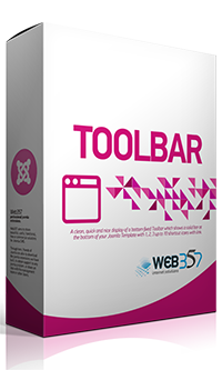 Fixed HTML Toolbar - Joomla! Module