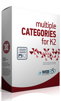 Multiple Categories for K2 extension for Joomla!