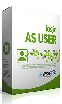 Login as User extension for Joomla!