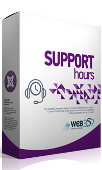 Support Hours extension for Joomla!