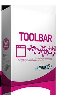 Toolbar - Joomla Module