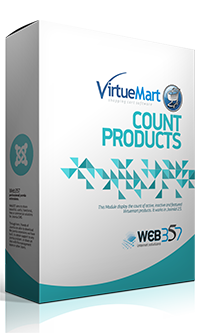 Virtuemart Count Products extension for Joomla!