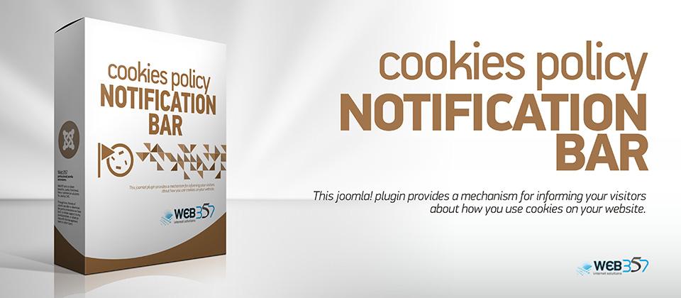 Cookies Policy Notification Bar for Joomla!