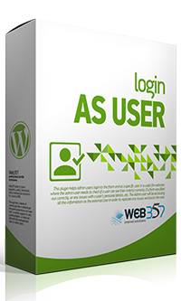 Login as User - WordPress plugin