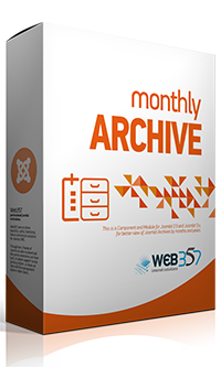 Monthly Archive - Joomla! component and module